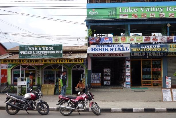 Pokhara w wersji turystycznej