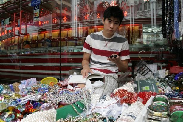 złoto i tandeta w Chinatown