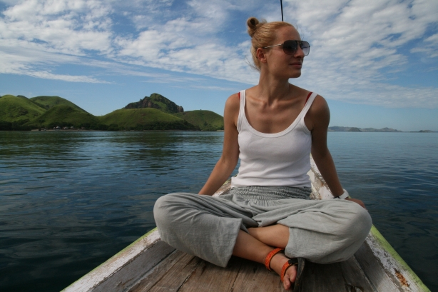 podróż na wyspę Rinca