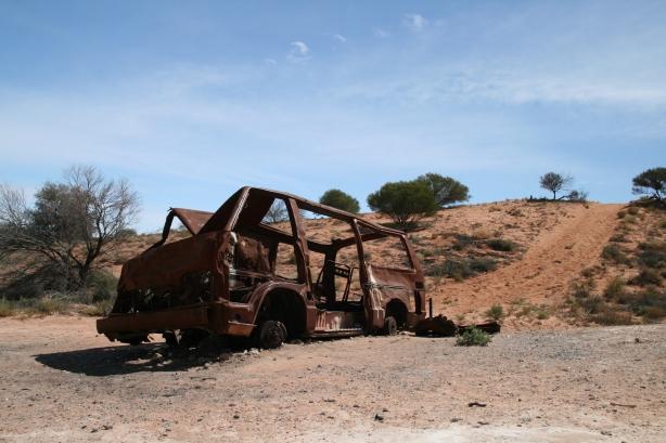Częsty widok w outbacku.