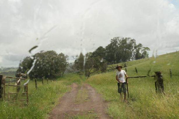 Często przejeżdżaliśmy przez prywatne farmy, które sami otwieraliśmy.