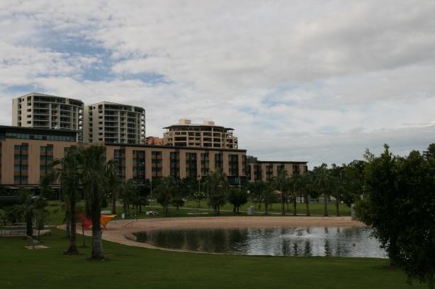 Nowe osiedle mieszkaniowe w Darwin.