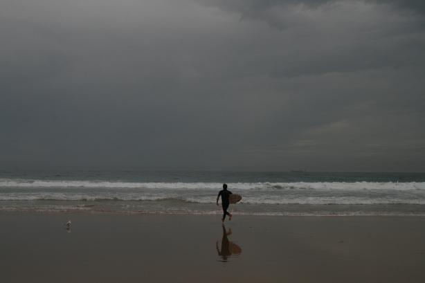 Plaża Manly.
