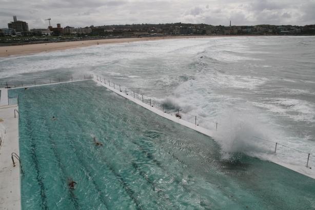 Basen na plaży Bondi.