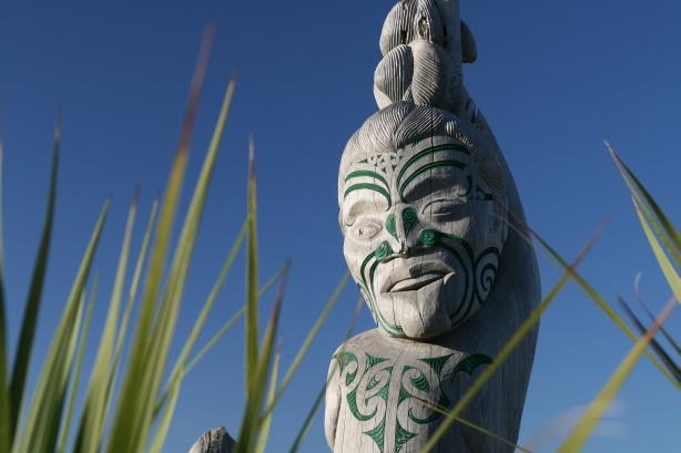 Maoryskie moko.