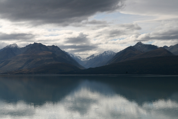 Po drodze do Mount Cook.