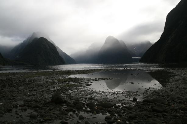 Milford Sound - najsłynniejszy fiord Nowej Zelandii.