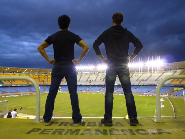 Świątynia futbolu - stadion Maracanã.