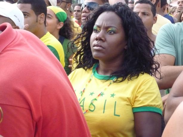 Na początku Brazylia nie grała zbyt dobrze..