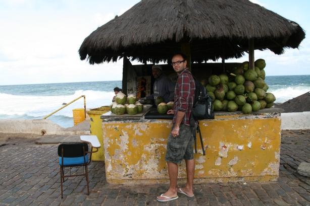 Po drodze na plażę Itapua na północy miasta.