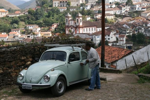 W Minais Gerais jest fabryka Volkswagena, stąd tyle ich wszędzie.