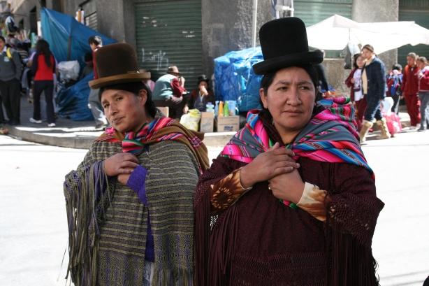 Mieszkanki Altiplano.
