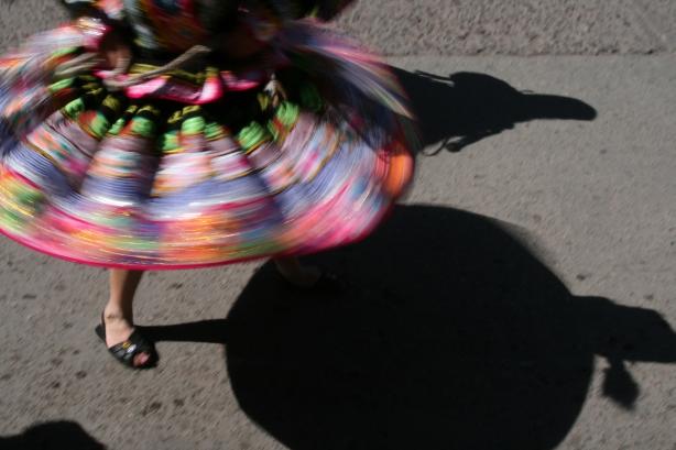 Tańce uliczne.