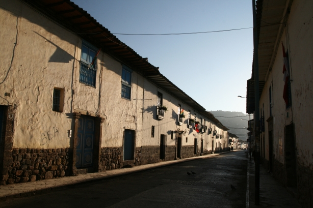 Ulice Cuzco.