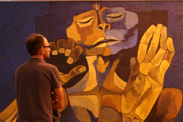 El Despertar - obraz Osvaldo Guayasamina, alegoria przebudzenia społeczeństwa Ameryki Południowej.