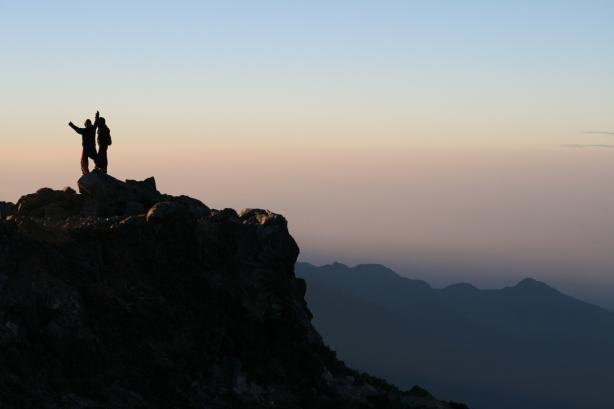 O 5.30 nad ranem łupem Michała padł najwyższy szczyt w Ameryce Południowej, wulkan Tajamulco 4220 m n.p.m.