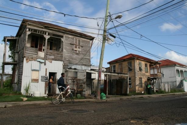 Ulice Belize City.