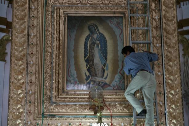 Nuestra Senora de Guadelupe w San Cristobal.