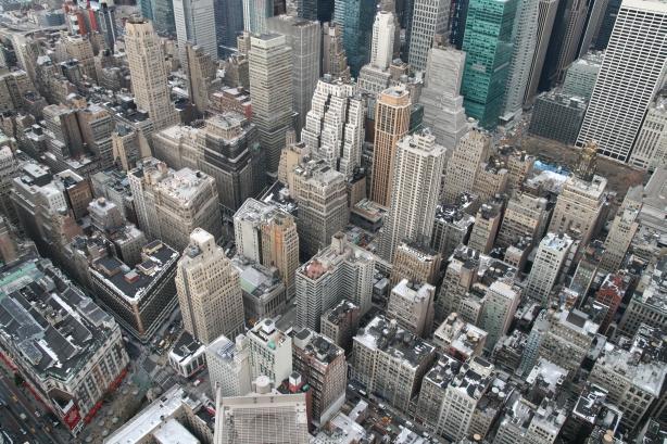 Widziane z Empire State Building.